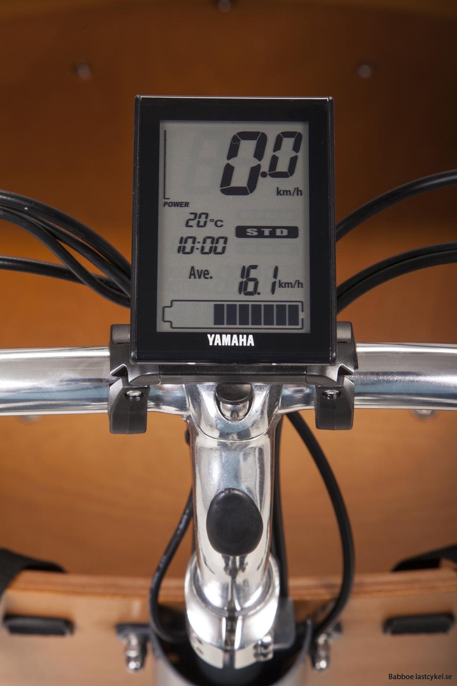 lastcykel styrmodul babboe mountain