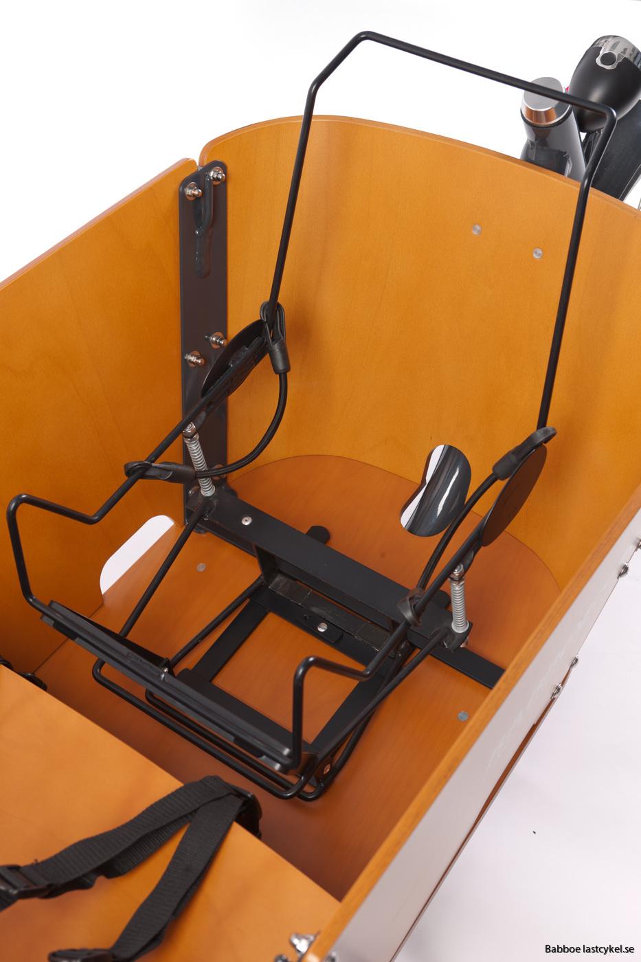 lastcykel bilbarnstolhållare