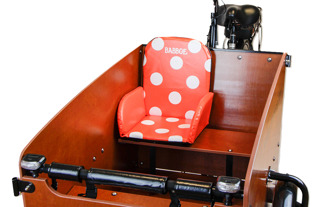 Barnstol - Barnstol Röd med prickor