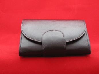 Damplånbok, 9 + 1 kort - Damplånbok svart