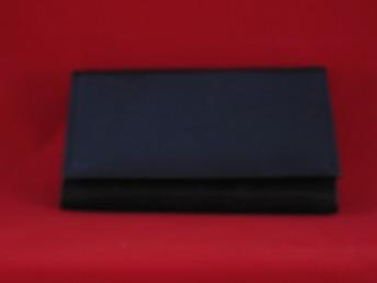 A6, Damplånbok, 14 + 1 kort - A6 svart, 14 + 1 kort