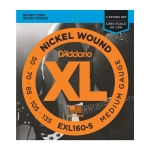 D'Addario EXL160-5 Medium Long Scale 50-135