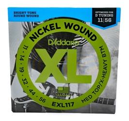 D'Addario EXL117 11-56 Drop D