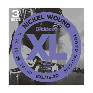 D'Addario EXL115-3D 11-49