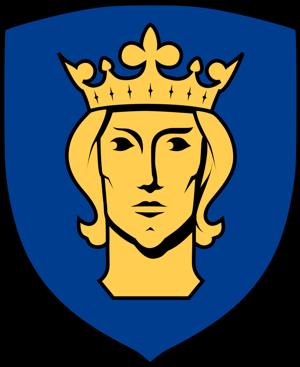 Sankt Erik, Stockholms vapen och beskyddare.