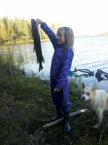En glad gäddfiskare!