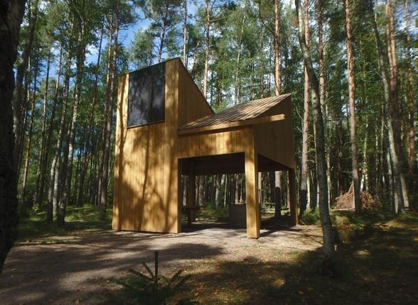 Ny Grillplats Bild  Isrenn Arkitekter