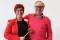 Polisförbundet Västs ordförande Katharina von Sydow och Stämmans ordförande Per-Åke Hammarnäs. Per-Åke var ordförande för Polisförbundet Västra Götaland