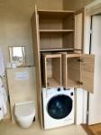 Badrum, dolda tvättlådor 3