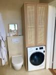 Badrum, dolda tvättlådor 1
