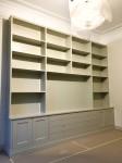 Förvaring, bokhylla med plats för tv