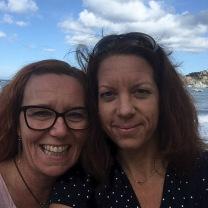 Susanne & Jenny på resan hösten 2018. Vi längtar till nästa - häng med!
