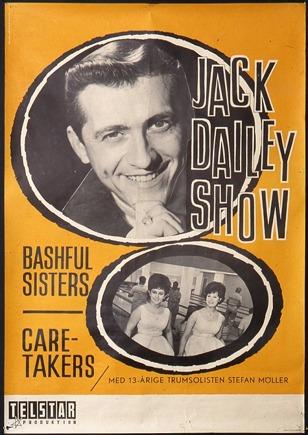 Affisch från Jack Dailey Show