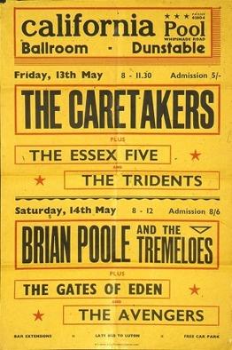 Affisch från maj 1966. JFA.