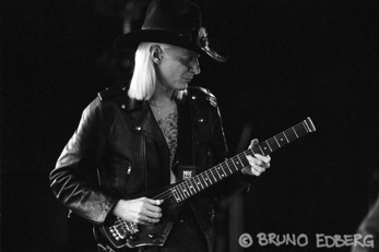 Johnny Winter. Foto: Bruno Edberg.
