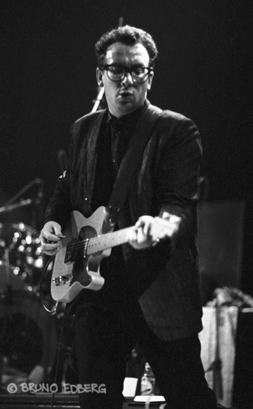 Elvis Costello. Foto: Bruno Edberg.