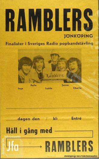 Fotot till affischen togs av Lena Ingvarsson (idag Edman).