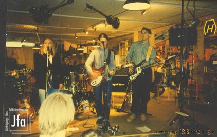 Cardigans på Jönköpings läns museum 1993. Foto: Ingeli Aalto.