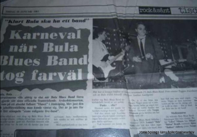 Artikel i JP efter avskedskonserten på Huset.