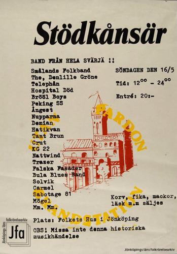 Affisch i Jönköpings läns museums arkiv.