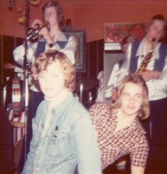 Dans till CCQ nyårsafton 1974. Foto: Fia Wiberg.