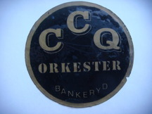 Klistermärke för CCQ.