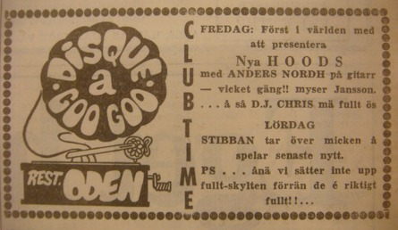 Annons i Jönköpings-Posten 16 maj 1969.