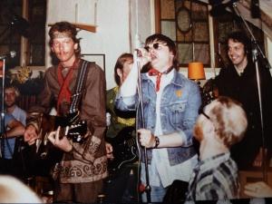 Dinky Boys på Bacchi Lyra ca 1979-1980. Foto: Agneta Johansson.