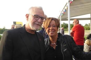 Jerry Hansson och Marianne Ericsson. Foto: Kerstin Ericsson.