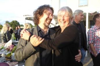 Lars Östvall och Cina Ljungberg. Foto: Kerstin Ericsson.