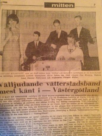 Artikel i Smålands Folkblad 1966.