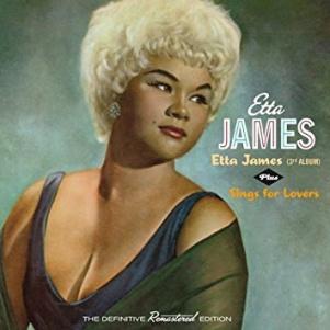 """Omslaget till LP:n """"Etta James"""" 1962."""