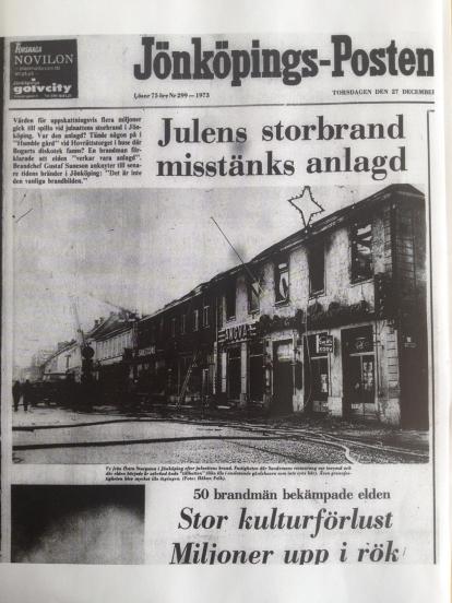 Jönköpings-Posten 27 december 1973.