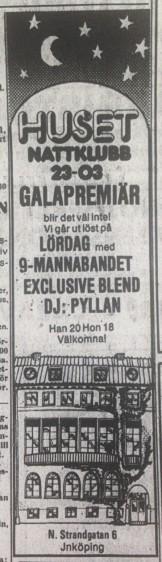 Annons i JP fredag 20/9 1974.