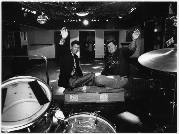 Omkring 1990 drevs huset av Stephen Lam och Jerry Gunnarsson. Foto: Bengt Adolfson, Smålands Folkblad.