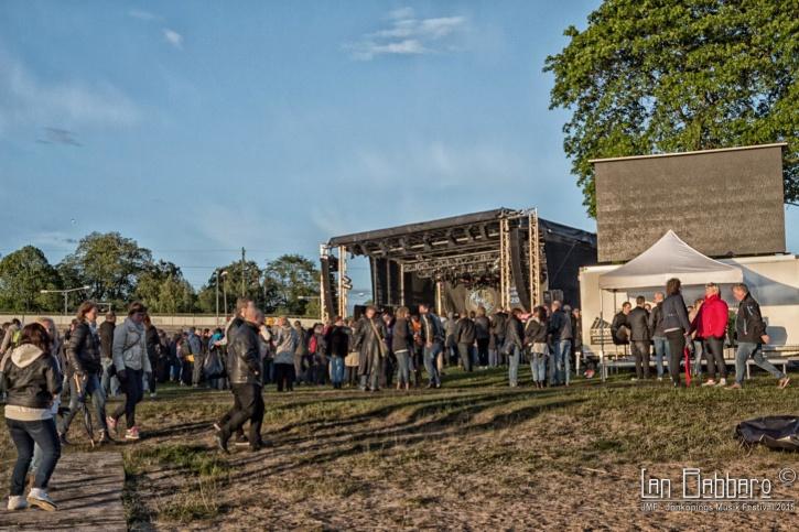 Nostalgi-scenen och JP:s tält. Foto: Lan Babbaro.