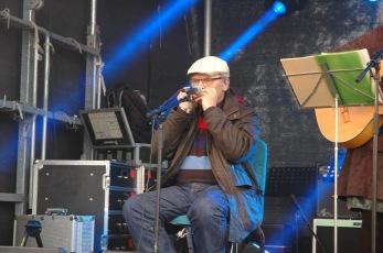 Munspelsmästaren Göran Hallqvist! Foto: Totte Ljunggren.