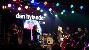 Dan Hylander & orkester på Nostalgi-scenen. Foto: Johan Forsman.