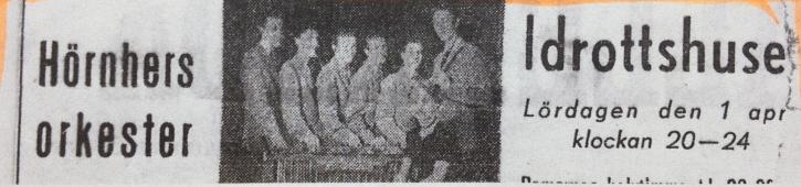Annons från 1950.