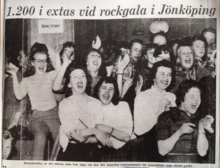 Smålands Folkblads förstasida 21 mars 1958.