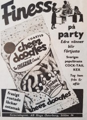 Annons i VeckoRevyn nr 45/1961.