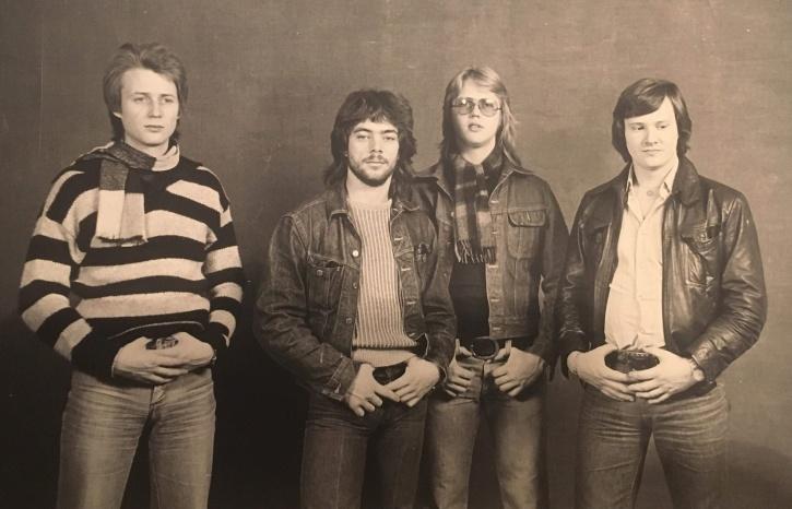 Refreshing Group, från vänster: Peter Christensen, Anders Fransson, Jörgen Christensen och Sören Nilsson.