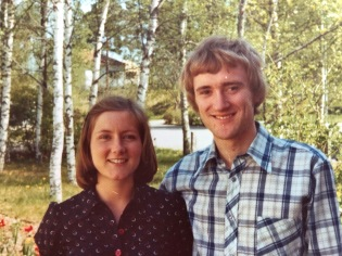 Ann och Erik. Foto från Erik Runemo.