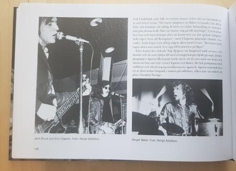"""Minnen från Creams besök i Jönköping 1967. Ur boken """"Rigoletto och Twistkulan""""."""