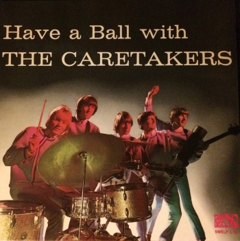 "Caretakers LP ""Have a Ball with The Caretakers"" från 1966."
