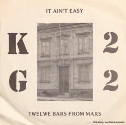 KG 22:s singel på KF Sjöbos skivbolag.