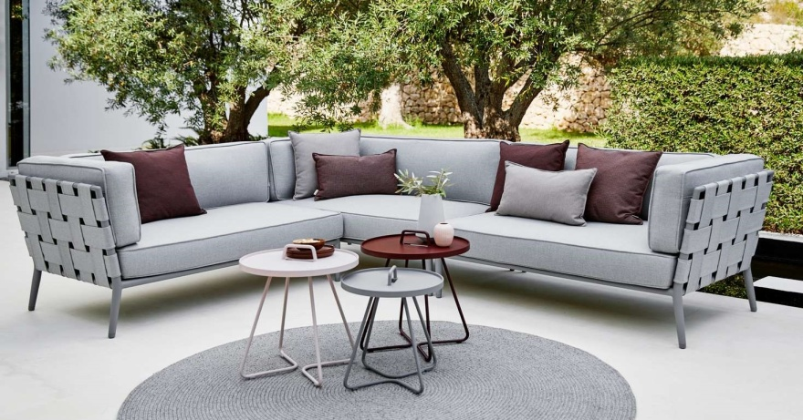 cane line conic soffa utemöbler