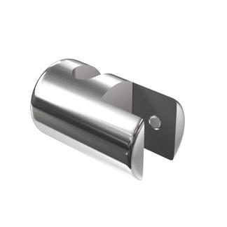 Enkel hållare R6202 - Enkel hållare 6 mm