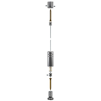 Vajerkit Golvtak C1100 - Vajer kit golv tak