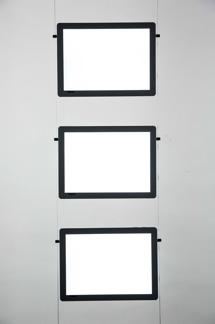 LED set med 2-5 fickor/set - Set med 3st A4